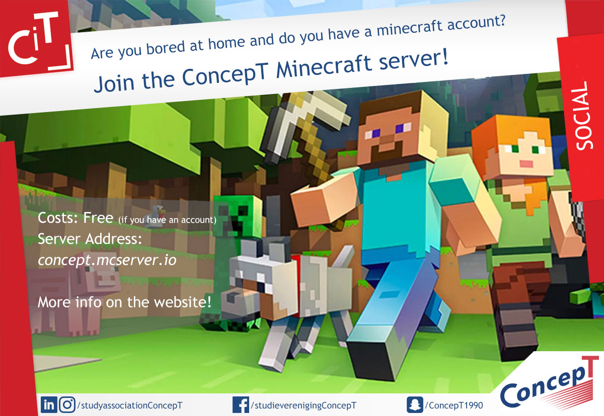 ConcepT Minecraft Party!