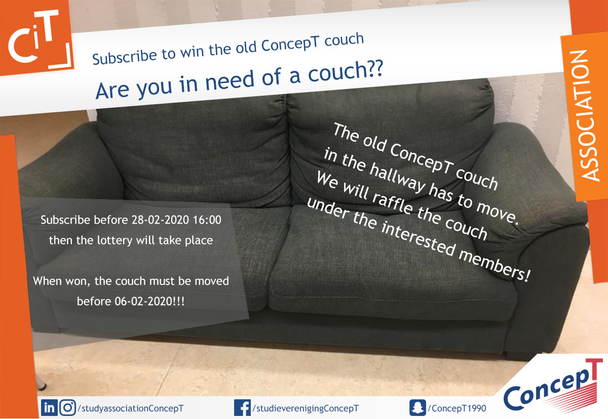 ConcepT couch Lottery