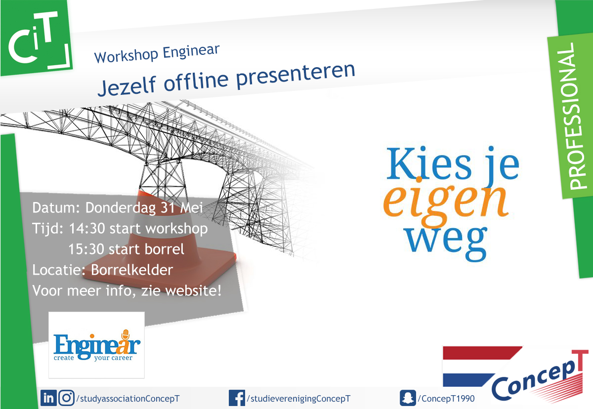 Workshop: Jezelf offline presenteren