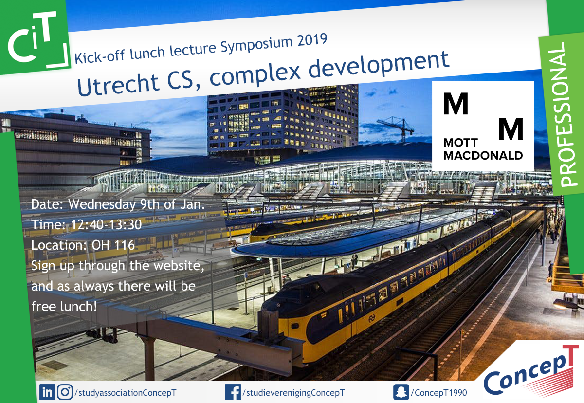 Kick-Off lecture Symposium 2019
