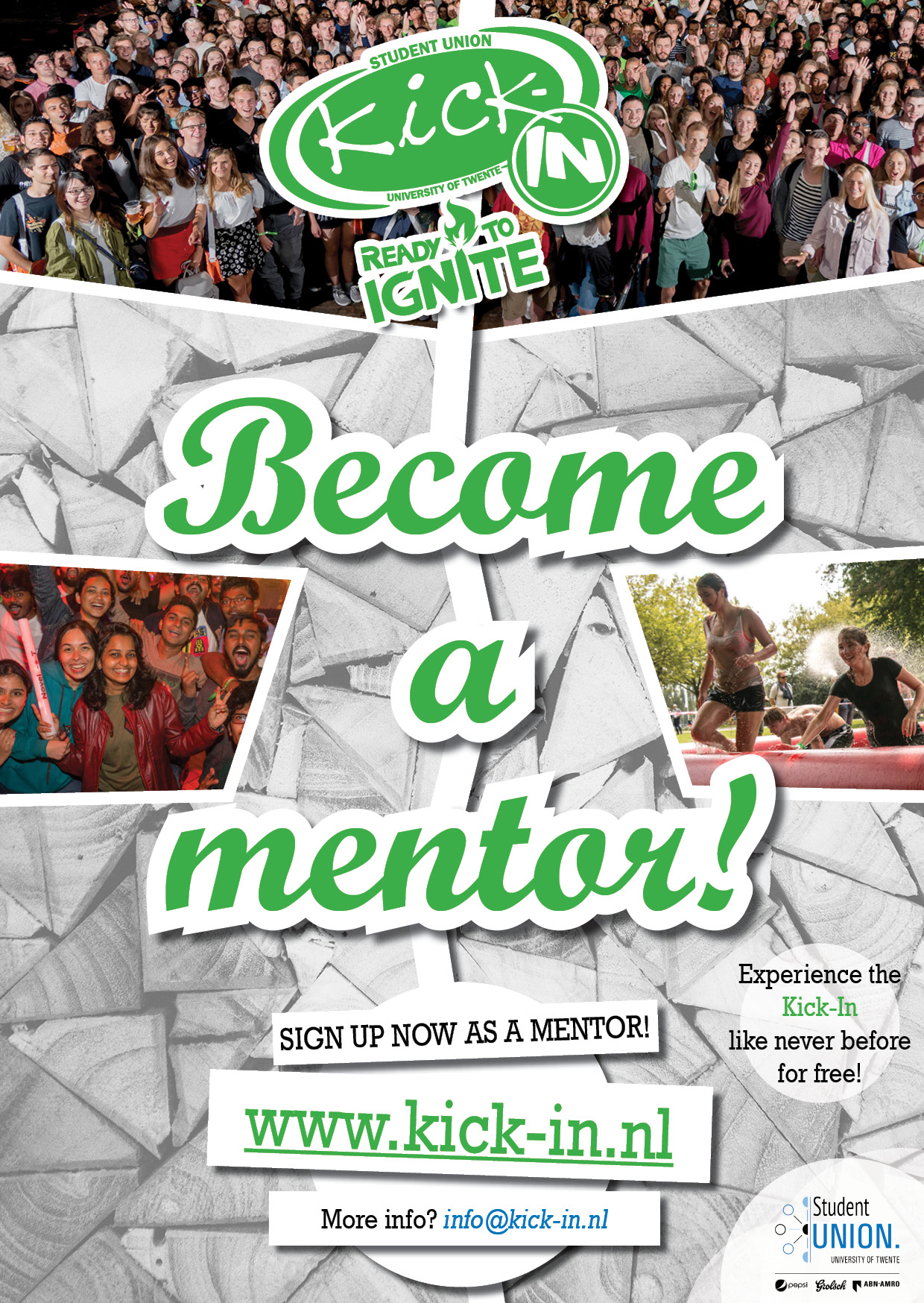 Become a Kick-In mentor!