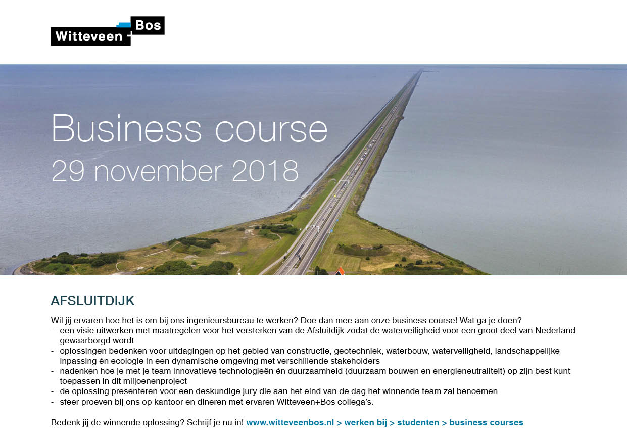 [NL] Business Course Witteveen + Bos