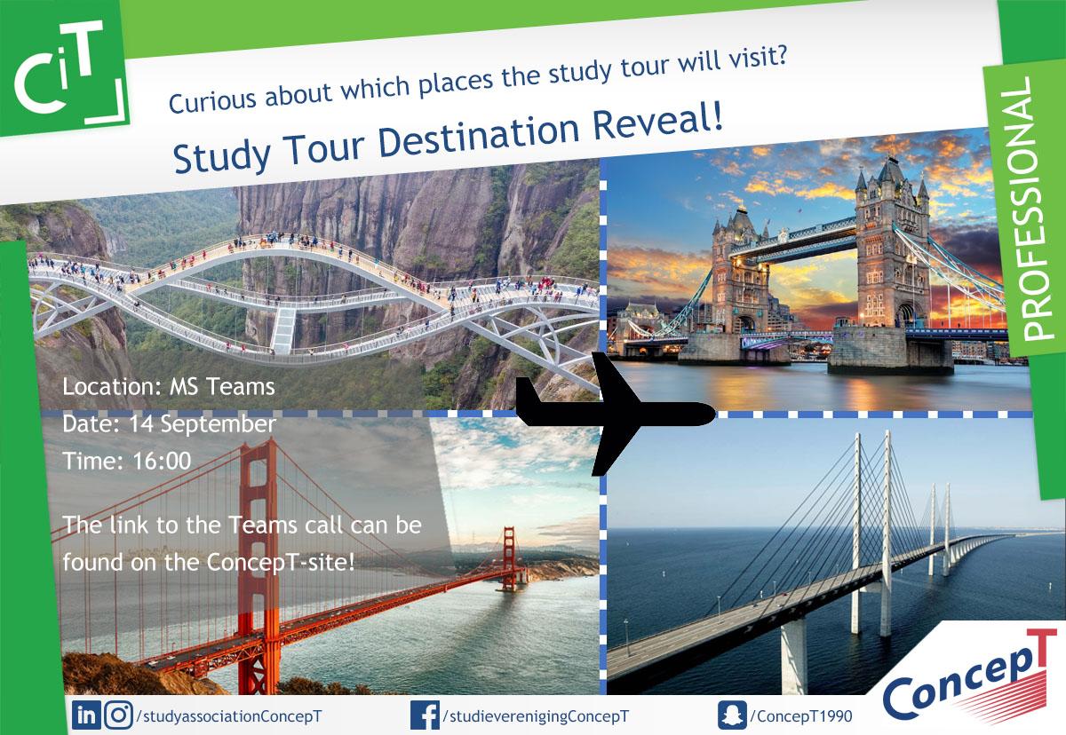 Study Tour 2022 Destination Reveal