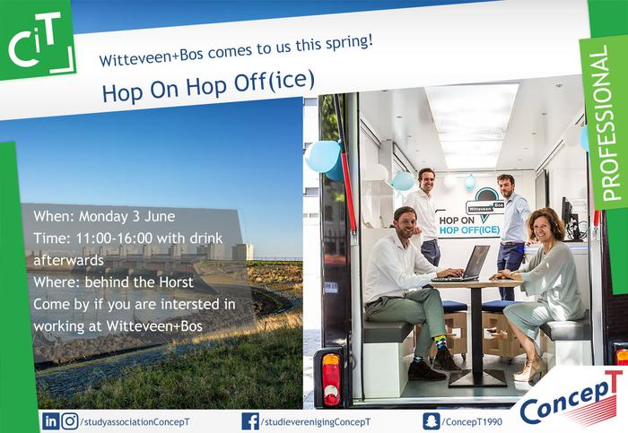 Witteveen + Bos Hop On Hop Off(ice)