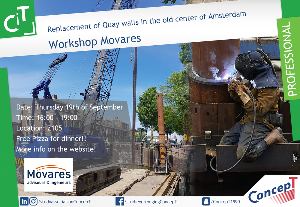 Workshop Movares: Replacement of Quay walls in the old city centre of Amsterdam