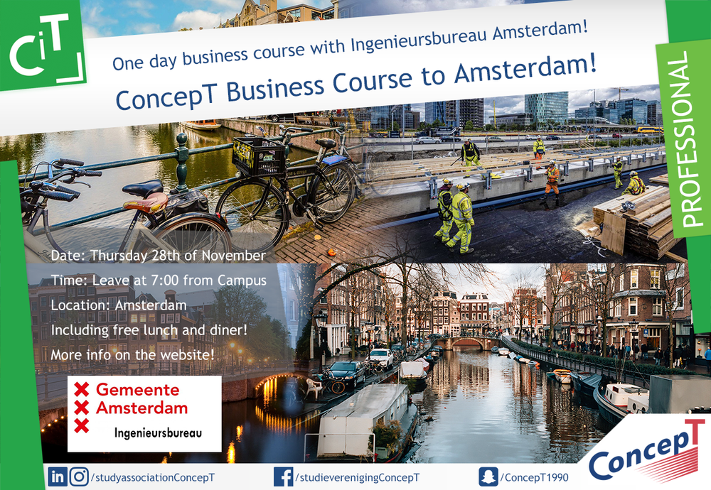 One-day ConcepT Business Course Amsterdam
