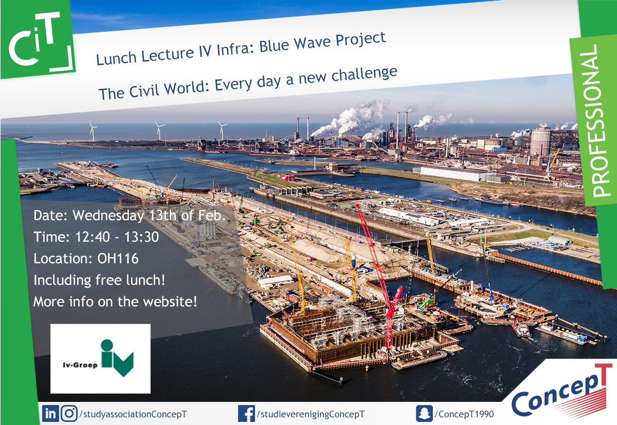 Lunch Lecture IV Infra: Blue Wave Project