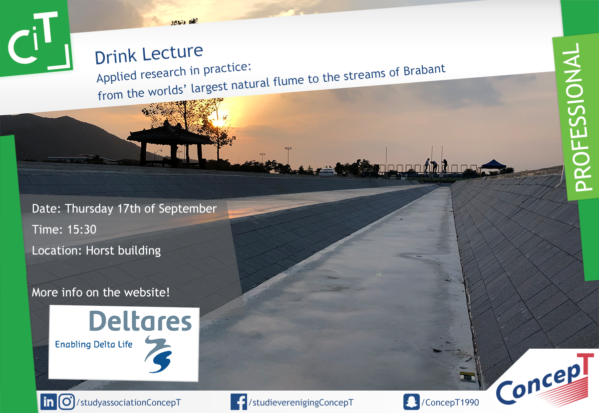 Drink lecture Deltares
