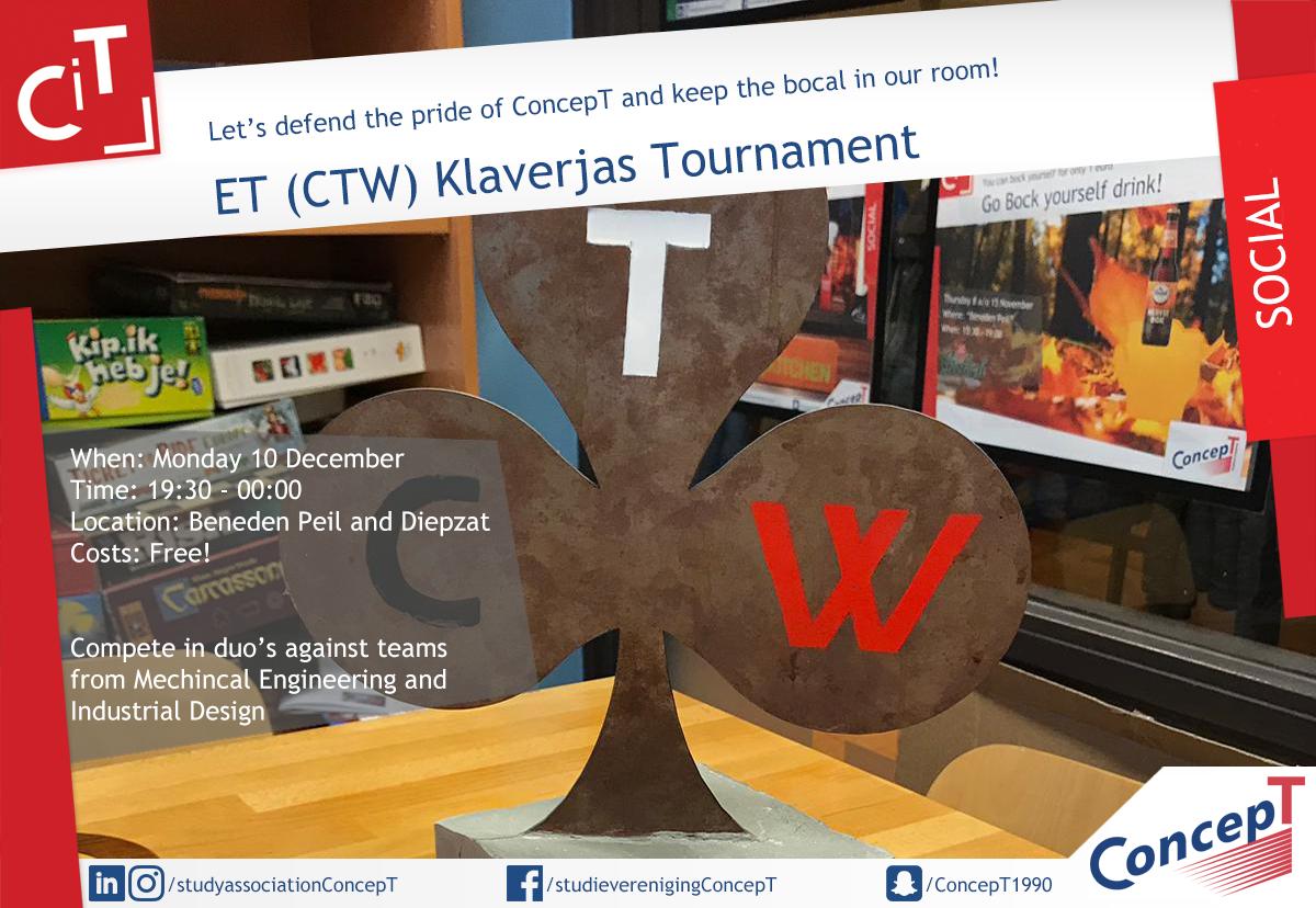 ET (CTW) Klaverjas Tournament